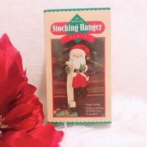 Hallmark Vintage Santa Stocking Hanger